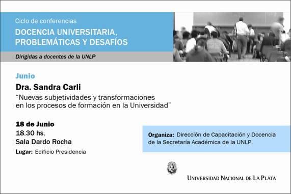 Conferencia Sandra Carli
